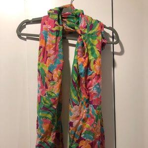 Lily Pulitzer flamingo scarf